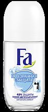 Дезодорант антиперспирант «Fa» Прозрачная защита, 50мл