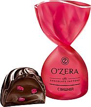 «OZera», конфеты с дробленой вишней (упаковка 0,5кг)