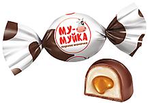 Конфета «Му-муйка» парное молочко (упаковка 0,5кг)