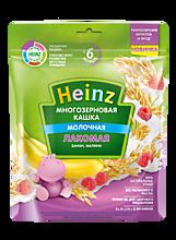 Лакомая Кашка «Heinz» Многозерновая с Бананом и Малиной, 170г
