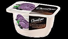 Продукт творожный 5.6% «Даниссимо» со вкусом сорбета из черной смородины и мяты, 130г