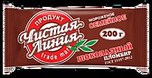 Мороженое «Чистая линия» пломбир шоколадный в брикете, 200г