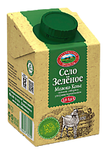 Молоко козье «Село Зеленое» ультрапастеризованное, 487мл