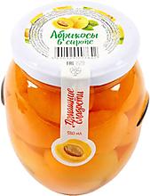 «Домашние сладости», абрикосы консервированные, 530г