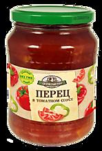 Перец «Домашние заготовки» в томатном соусе, 720 мл, 720г