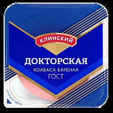Колбаса Докторская «Клинский» в нарезке, 190г