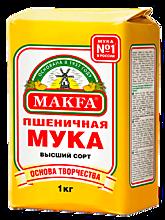 Мука пшеничная «Makfa», 1кг
