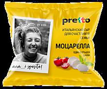 Сыр «Pretto» Моцарелла фиор ди латте в воде, 100г