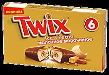 Мороженое «Twix» 6 батончиков, 205г