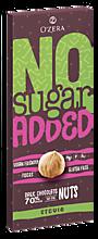 Горький шоколад «O'Zera» No sugar added Dark&Nuts, 90г
