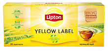 Чай черный «Lipton» Yellow label 25пак