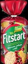 Хлебцы «FITSTART» мультизлаковые Брусника-Имбирь, 100г