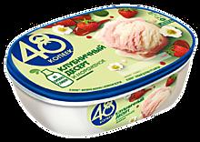 Мороженое «48 копеек» Клубничный десерт, 800мл
