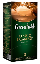 Чай черный «Greenfield» Classic Breakfast, 25 пакетиков, 50 г