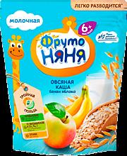 Кашка сухая «ФрутоНяня» из овсяной муки, Банан-Яблоко, 200г