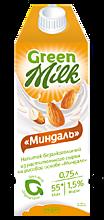 Растительный напиток «GreenMilk» Миндаль, 750мл