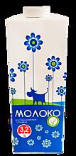 Молоко 3.2% пастеризованное, 950мл