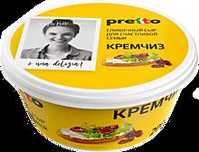Сыр 75% «Pretto» сливочный Кремчиз, 200г