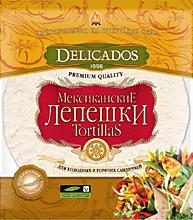 Лепешки «Delicados» Тортильи пшеничные оригинальные, 400г