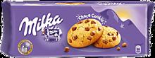 Печенье «Milka» с кусочками шоколада, 168г