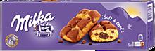 Пирожное бисквитное «Milka» с кусочками молочного шоколада и какао, 175г