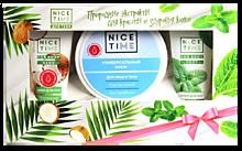 Подарочный набор «Nice Time» крем для лица и тела, крема для рук и ног