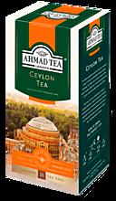 Черный чай «Ahmad Tea» Цейлонский, 25 пакетиков
