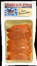 Кета «Рыбный цех» филе-ломтики холодного копчения, 120г
