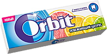 Жевательная резинка «Orbit» Освежающий цитрус, 13г