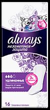 Прокладки ежедневные «Always» Single Незаметная защита, 16 шт