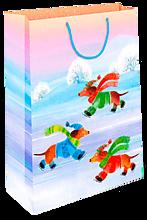 Пакет подарочный Новогодний, 26*32 см