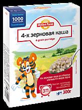 Каша «Тигренок» 4-х зерновая, 300г