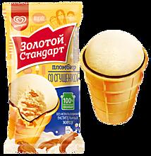 Пломбир «Золотой стандарт» со сгущенкой, 89г