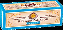 Сырок глазированный 26% «Б.Ю. Александров» ванильный, в темном шоколаде, 50г