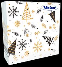 Салфетки «Veiro» однослойные, с рисунком, 50 шт