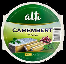 Сыр 50% «Alti» Камамбер пастеризованный, с белой плесенью, 125г