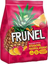 «Frunel», мармелад пектиновый с соком апельсина, малины и ананаса, 250г