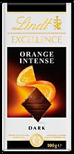 Шоколад темный «Lindt» Excellence со вкусом апельсина и кусочками миндаля, 100г