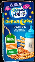 Кашка «ФрутоНяня» молочно-пшеничная, 200мл