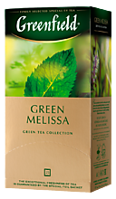 Чай «Greenfield» Green Melissa, 25 пакетиков, 37г