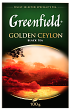 Чай черный «Greenfield» Golden Ceylon, 100 г