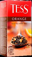 Чай черный «Tess» Orange, 25 пакетиков
