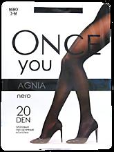 Колготки женские «Once You» Agnia 20 ден, nero, размер 3