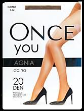 Колготки женские «Once You» Agnia 20 den, daino, размер 3