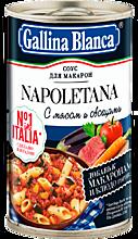 Соус для макарон «Gallina Blanca» Наполетано с мясом и овощами, 180г