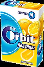 Леденцы «Orbit» Лимон и мята, 35г