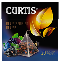 Чай черный «Curtis» Berries Blues, 20 пирамидок, 36 г
