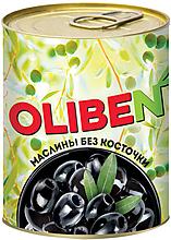 «OLIBEN», маслины без косточки, 270г
