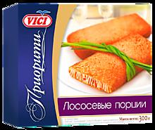 Филе лосося «Vici» в панировке, порционное, 300г