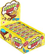 Батончик-суфле клубнично-банановый «Banana bar», 35г